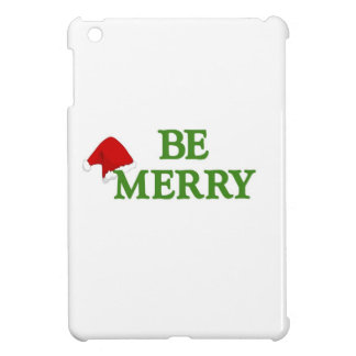 Be Merry this holiday season Cover For The iPad Mini