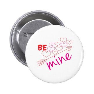 Be Mine 2 Inch Round Button