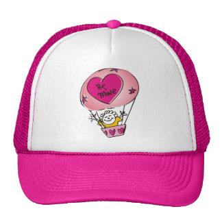 Be Mine Balloon Mesh Hat