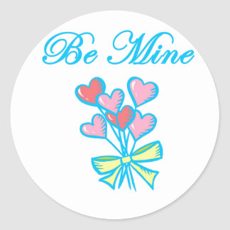 Be Mine - Blue Sticker