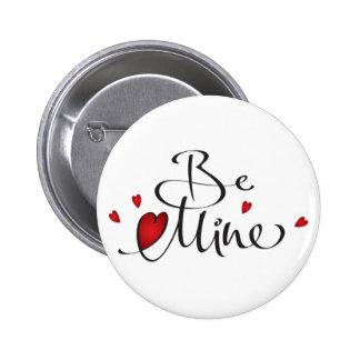 Be Mine Button