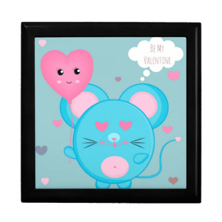 Be Mine Cute Mouse Gift Box