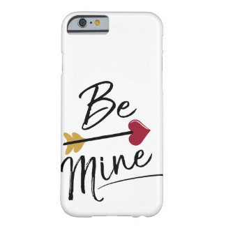 Be mine Cute Valentines Barely There iPhone 6 Case