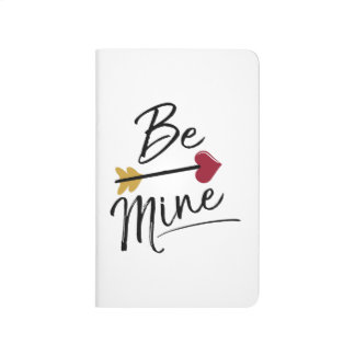 Be mine Cute Valentines Journal