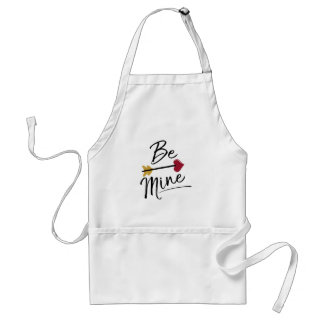 Be mine Cute Valentines Standard Apron