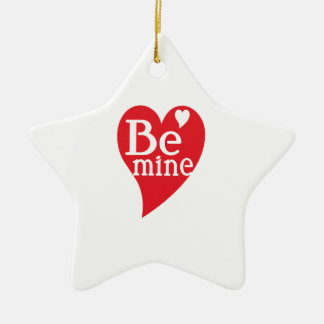 Be Mine Ornaments