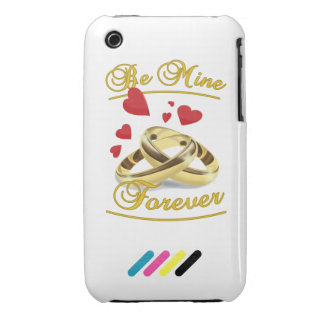 Be mine for ever iPhone 3 case