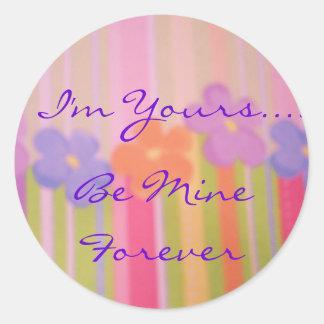 Be mine forever sticker