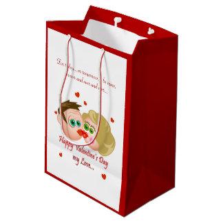 Be mine forever valentine gift bag