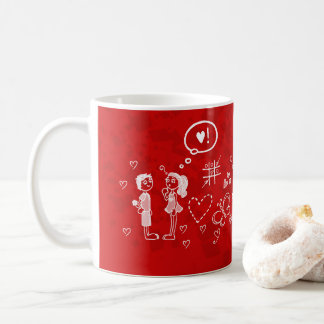 be mine love coffee mug