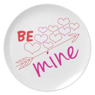 Be Mine Plates