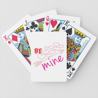 Be Mine Bicycle Poker Deck