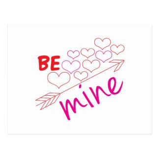 Be Mine Postcard