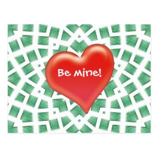 Be mine! - Postcard