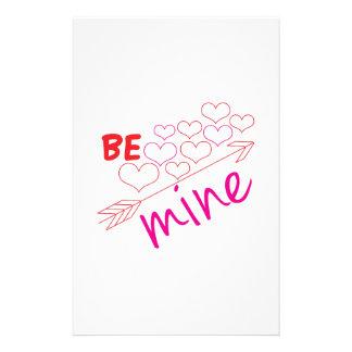 Be Mine Stationery