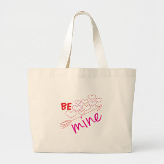Be Mine Jumbo Tote Bag