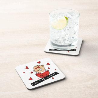 Be Mine Valentine Beverage Coasters