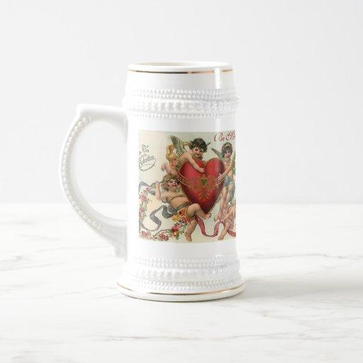 Be Mine Valentine Stein Mugs