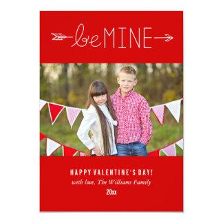 Be Mine | Valentine's Day Cards 13 Cm X 18 Cm Invitation Card