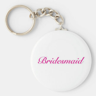Be my bridesmaid key chains