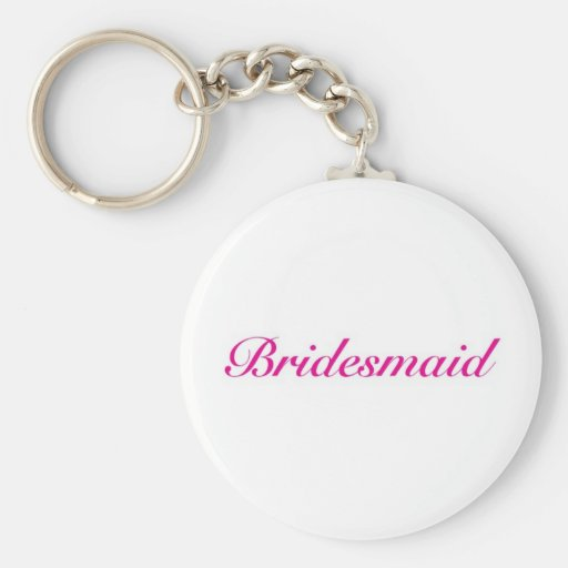 Be my bridesmaid key chains
