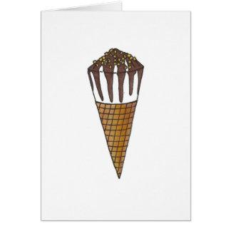 Be My Buddy Ice Cream Cone Valentine's Day Card