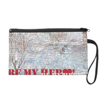 Be My Hero! Wristlet Cosmetic Bag
