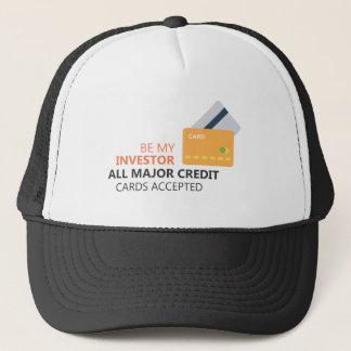 Be my investor trucker hat