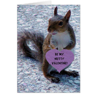 Be My Nutty Valentine! Greeting Card