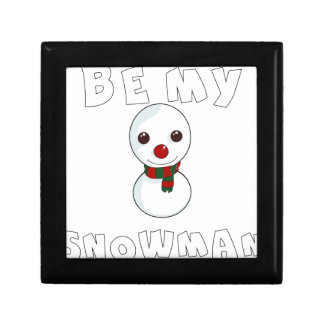 be my snowman gift box