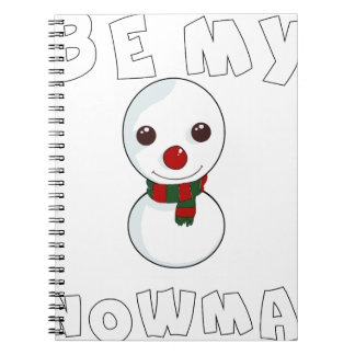 be my snowman notebooks