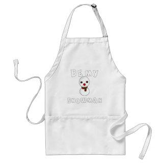 be my snowman standard apron