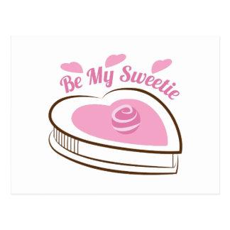 Be My Sweetie Postcard