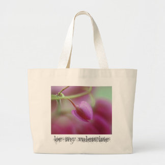 Be my valentine tote bags