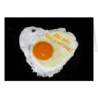 Be My Valentine Card. Heart