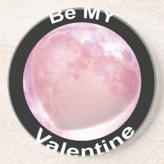 Be My Valentine Beverage Coaster