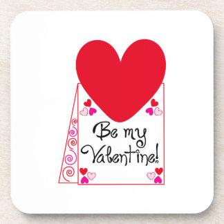 Be My Valentine! Drink Coasters
