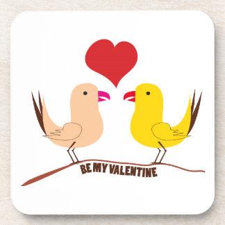 Be My Valentine Drink Coaster