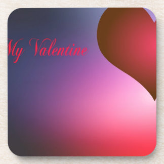 Be My Valentine Beverage Coasters