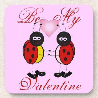 Be My Valentine Drink Coasters