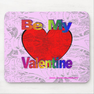 Be My Valentine - Get Lost Mouse Pad