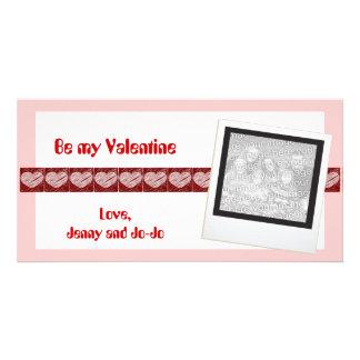 Be my Valentine Photo Cards