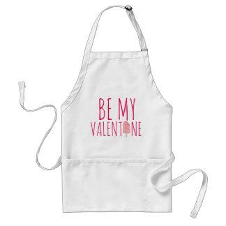 Be My Valentine Pink Ice Cream Popsicle Apron