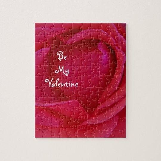 Be My Valentine Rose Puzzle