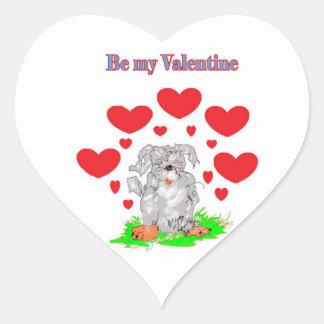 Be My Valentine /Sarr Heart Sticker