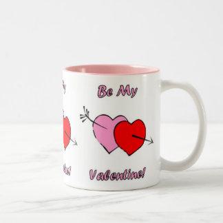 Be My Valentine! Two-Tone Mug