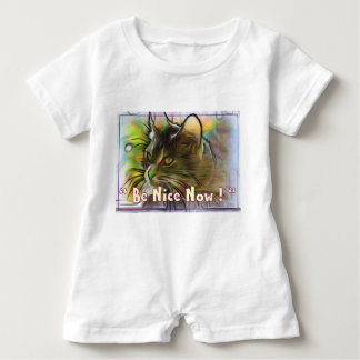 """Be Nice Now"" Baby Bodysuit"