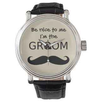 Be Nice to Me I'm the GROOM Watch