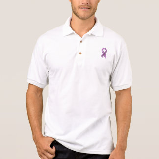 Be nice to my girl, she suffers with        FIB... Polo Shirt