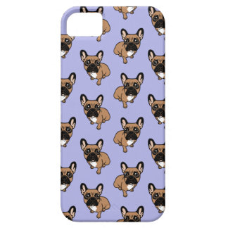 Be nice to the cute black mask fawn Frenchie iPhone 5 Case